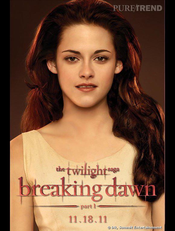 """Kristen Stewart dans le quatrième volet de la saga Twilight, """"Breaking Dawn part 1""""."""