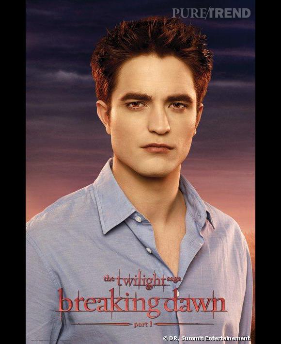 "Robert Pattinson dans le quatrième volet de la saga Twilight, ""Breaking Dawn part 1""."
