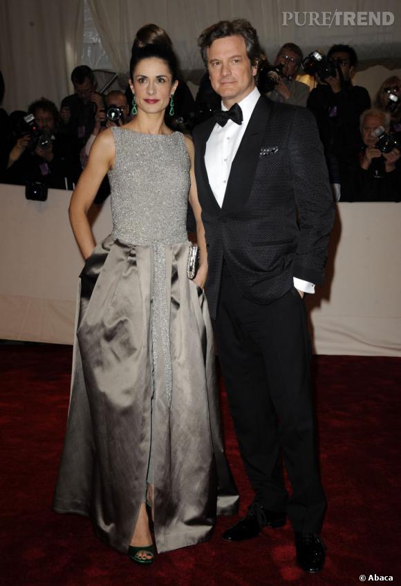 Livia et Colin Firth.
