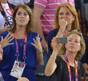 JO 2012 : les Princesses Beatrice et Eugenie et la Duchesse d'York jouent les supportrices