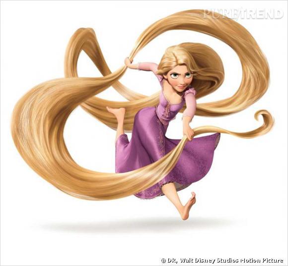 La caractéristique première de Raiponce est ses cheveux ultra-longs couleur des blés. Elle en fait une force et s'en sert comme d'une arme. On imagine juste le temps que doit lui prendre le démêlage.
