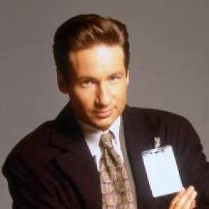 "David Duchovny dans son rôle de ""Mulder""."
