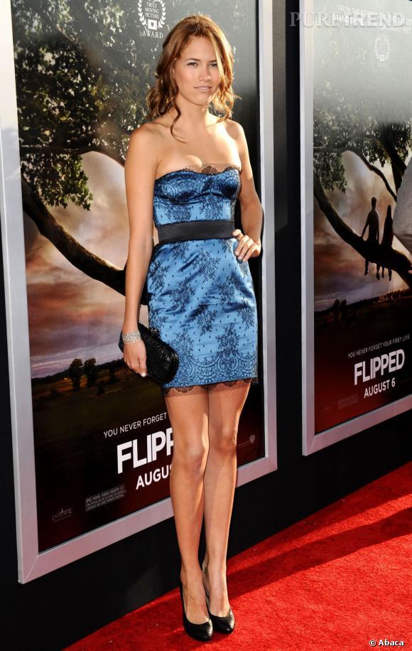 De sa mère mannequin, la jeune actrice a hérité un physique plus qu'avantageux.