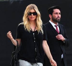 Fergie : micro short et maxi jambes... a shopper !