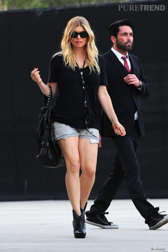 Fergie, sexy et rock'n'roll à Los Angeles.