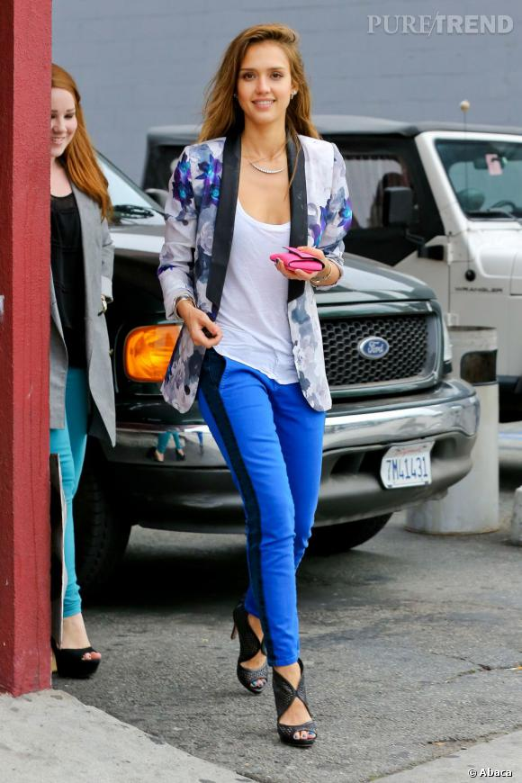 La bonne résolution de Jessica Alba :  Rester parfaite. Non mais vraiment, il n'y a rien à changer chez l'actrice ! Actrice de talent, it girl, mère de famille et business woman, on lui pardonne même son retour au blond parce qu'on sait que ce sera éphémère !