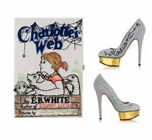 Collaboration hype : Charlotte Olympia et Olympia Le-Tan presentent ''Charlotte's Web''