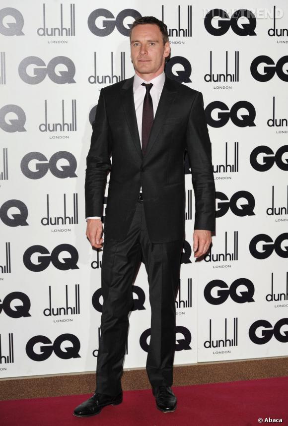 Michael Fassbender, acteur de l'année et sans conteste l'un des invités les plus séduisants de la soirée.