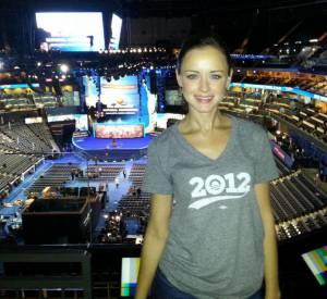 En plus de tourner quelques films, d'apparaître dans des séries TV et de faire du théâtre, Alexis Bledel s'engage sérieusement pour la campagne présidentielle.