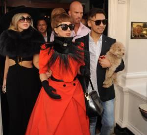 Lady Gaga : les 3 looks d'une princesse excentrique dans les rues de Londres