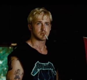 Ryan Gosling dans ''The Place Beyond The Pines'' : biker blond platine et tatouages, une vraie métamorphose !