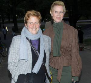 Cynthia Nixon et Christine Marinoni : mariées depuis le 27 mai 2012.