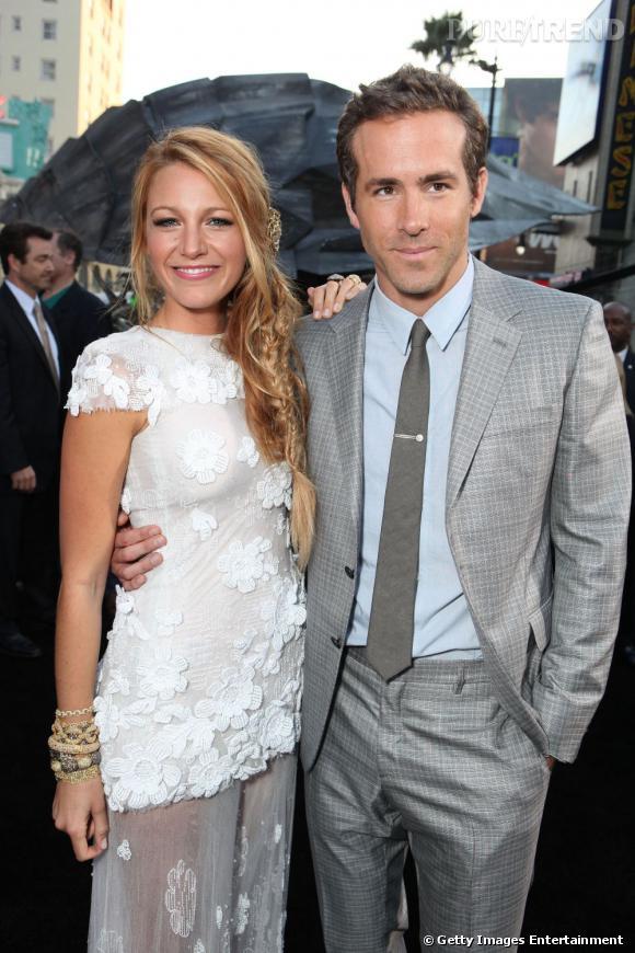 Blake Lively et Ryan Reynolds : mariés depuis le 8 septembre 2012.
