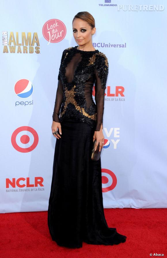 Nicole Richie à la cérémonie des ALMA Awards 2012 à Los Angeles le 16 septembre dernier.