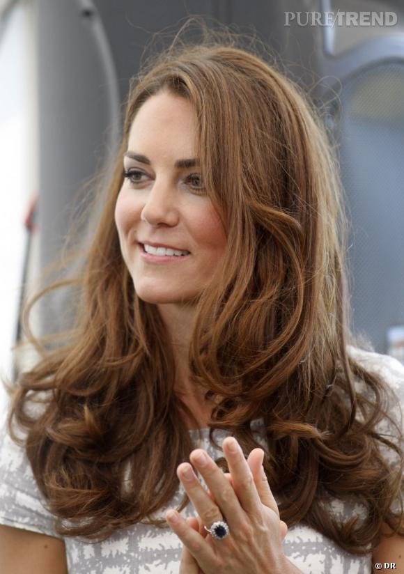 Kate Middleton et son brushing culte : le Chelsea Blow-dry.