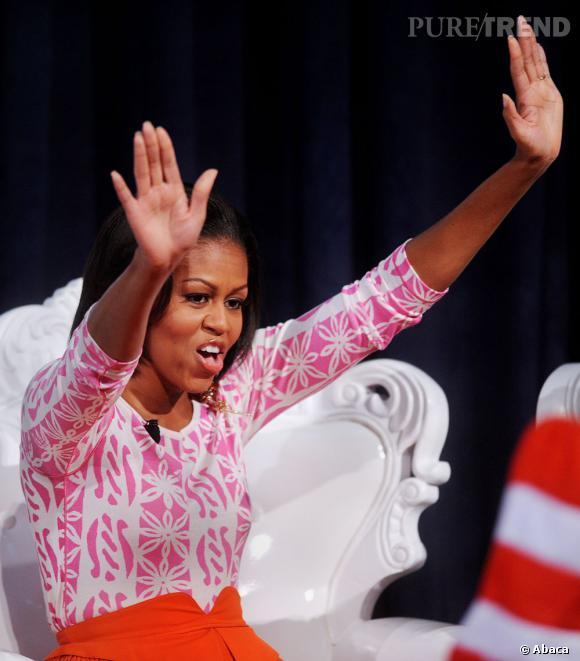 Dans la playlist de la First Lady ? Du hip-hop !