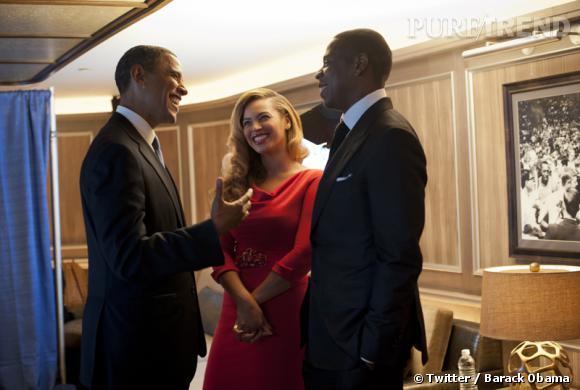 Beyoncé et Jay-Z comptaient parmi les invités à un dîner officiel à la Maison Blanche.