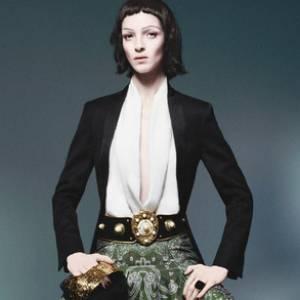 Mannequins italiens : notre top 5 Mariacarla Boscono Campagne Yves Saint Laurent Printemps-Eté 2012