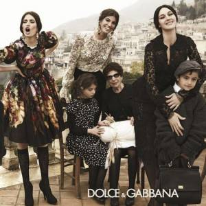 Mannequins italiens : notre top 5 Bianca Balti Campagne Dolce & Gabbana Automne-Hiver 2012/2013