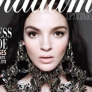 Mannequins italiens : notre top 5 Mariacarla Boscono Couverture Madame Figaro mars 2012
