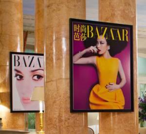 Le bar éphémère du Harper's Bazaar prend ses aises au Bristol