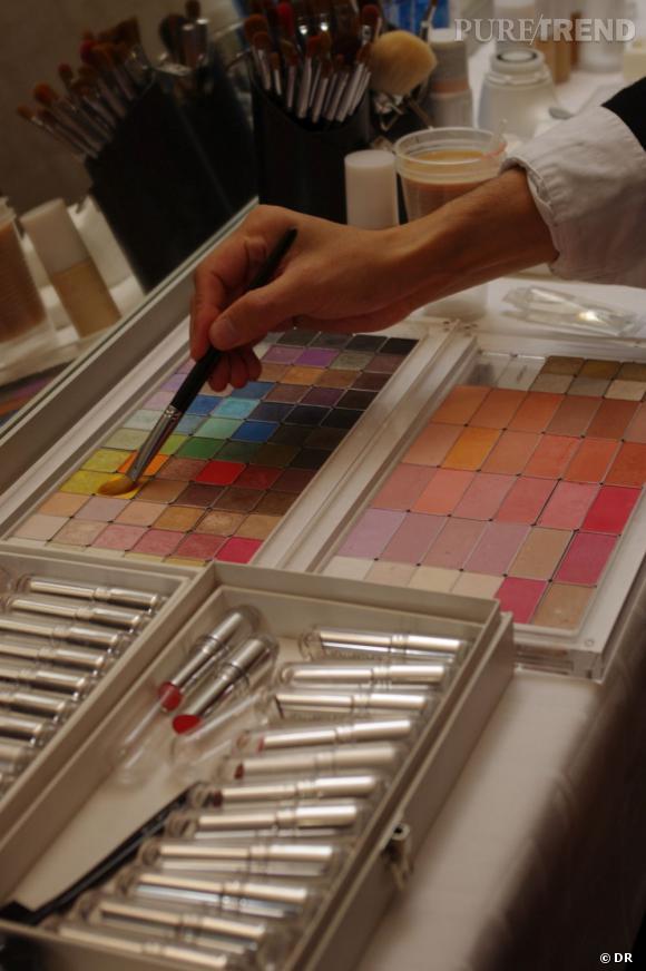 Les palettes de couleurs Shu Uemura brassent toutes les nuances qui nous font envie.