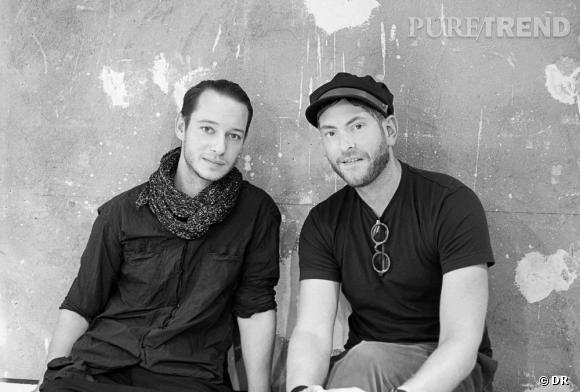 Le créateur Damir Doma et Moritz Krueger, CEO et directeur créatif de Mykita