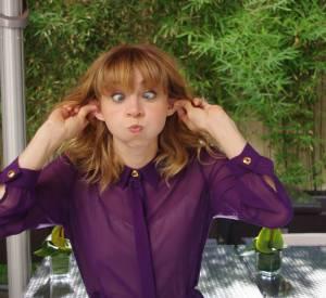 Zoe Kazan et sa grimace préférée.