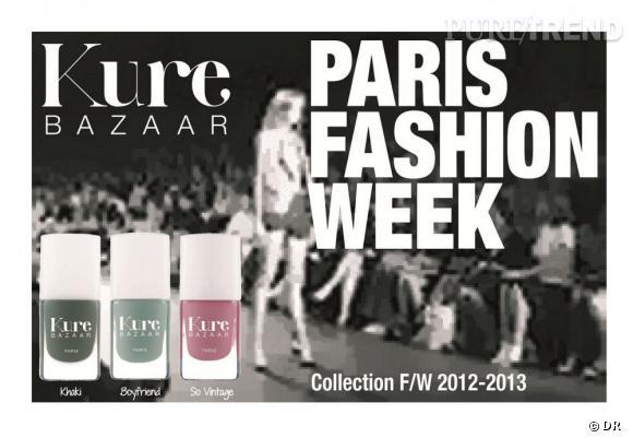 Paris Fashion Week, les nouveaux vernis Kure Bazaar