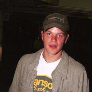 "Matt Damon en 2000 développe son potentiel version ""cool attitude""."