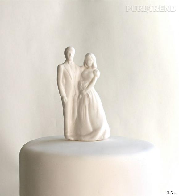 Etsy mariage      Figurine mariées top cake par Andie's Specialty Sweets      www.etsy.com/shop/andiespecialtysweets