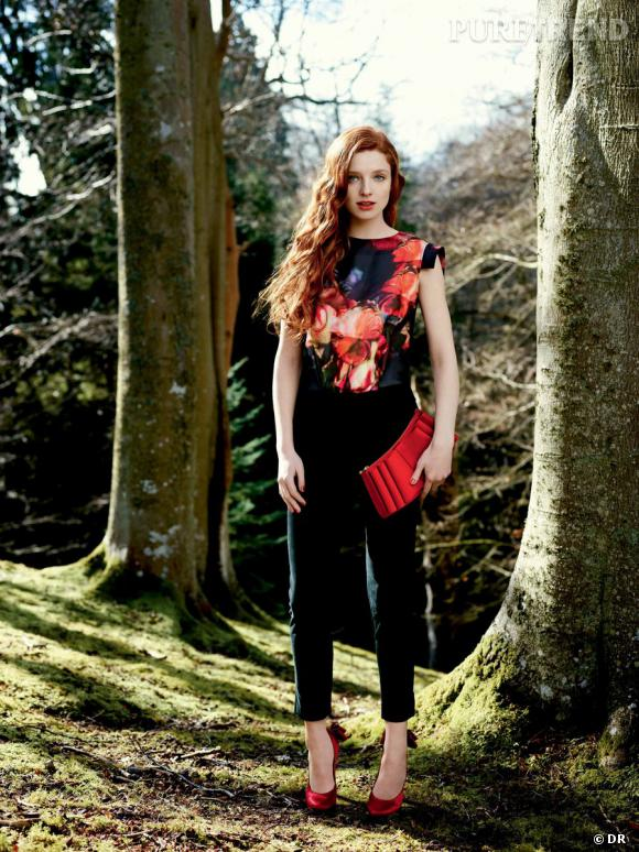 Ted Baker London collection Automne-Hiver 2012/2013 : silhouette coup de coeur