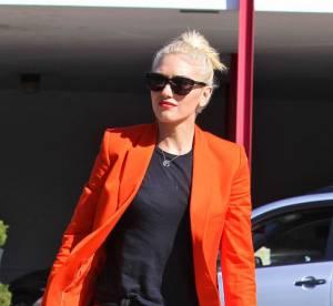 Gwen Stefani, le blazer Halloween rock... A shopper !