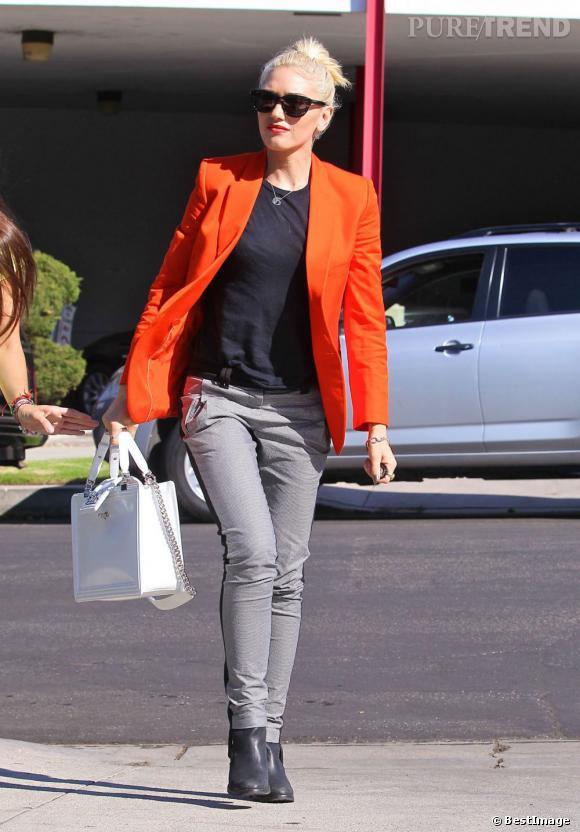 L'allure rock et vitaminée de Gwen Stefani est parfaite !