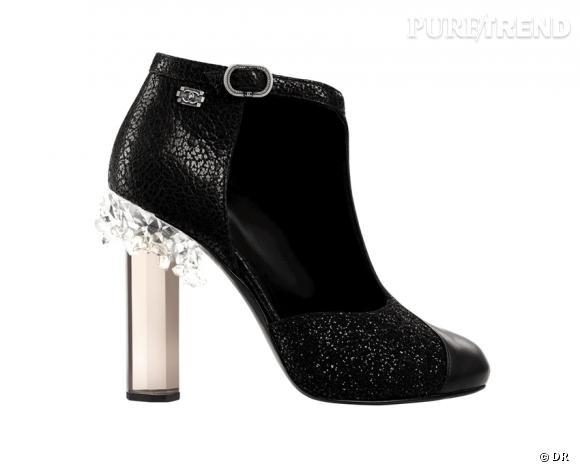Les it-shoes de l Automne-Hiver 2012 2013   Bottines Chanel, 1250 ... 94d9ed09dc4