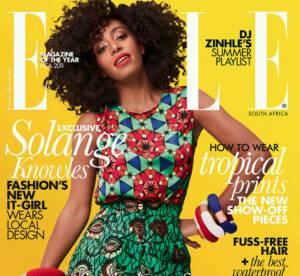 Solange Knowles, caliente pour le Elle sud-africain