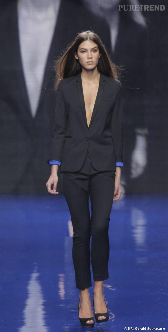 Marilhéa lors de la finale France Elite Model Look 2012.