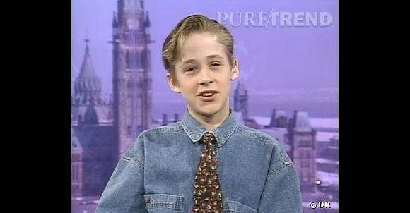 Déjà adorable à 12 ans, Ryan Gosling charme sans peine la présentatrice qui l'interviewe.