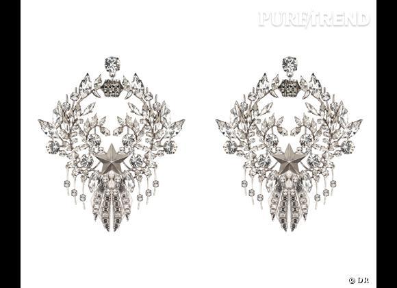 Le must have d'Amélie      Boucles d'oreilles Givenchy par Riccardo Tisci, prix sur demande