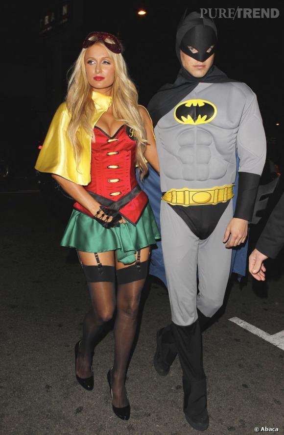Paris Hilton donne une toute autre dimension à Robin.
