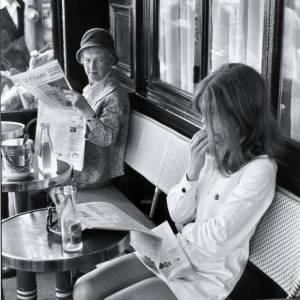 Chez Lipp, Paris, 1968.