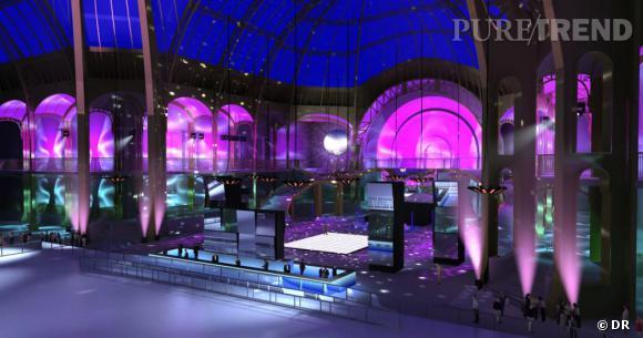 Le Grand Palais transformé en Grand Palais des Glaces.