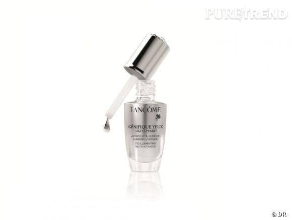 Etape 4 : Le soin des yeux    Génifique Yeux Light-Pearl de Lancôme, 59,90 €