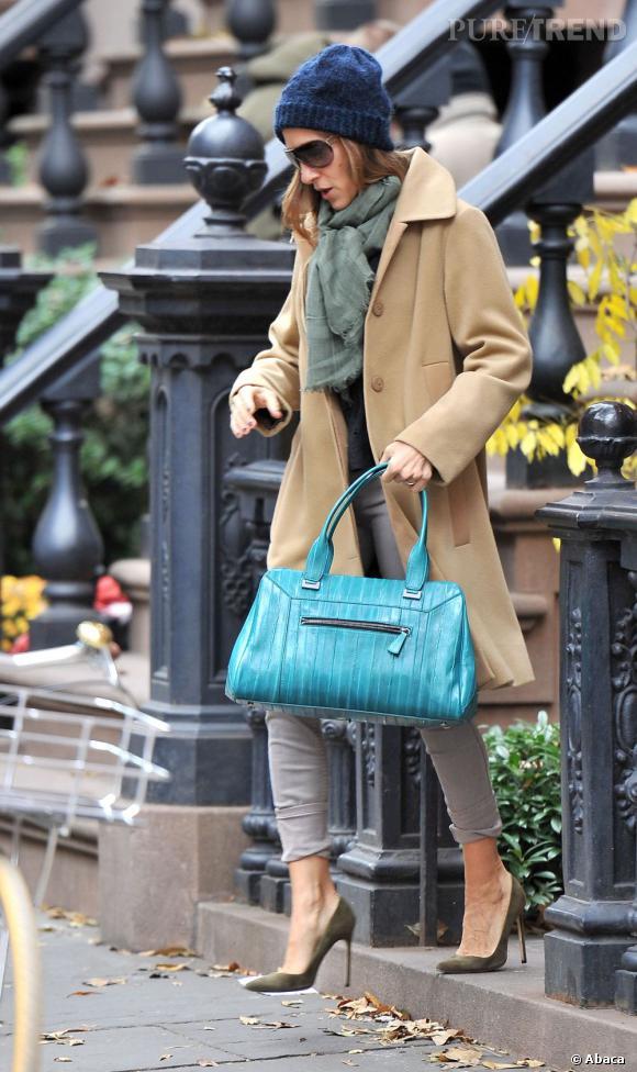 Sarah Jessica Parker, new-yorkaise mode et chic.