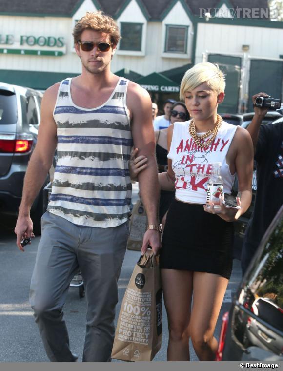 Miley Cyrus est plus provoc' et Liam aime ça.