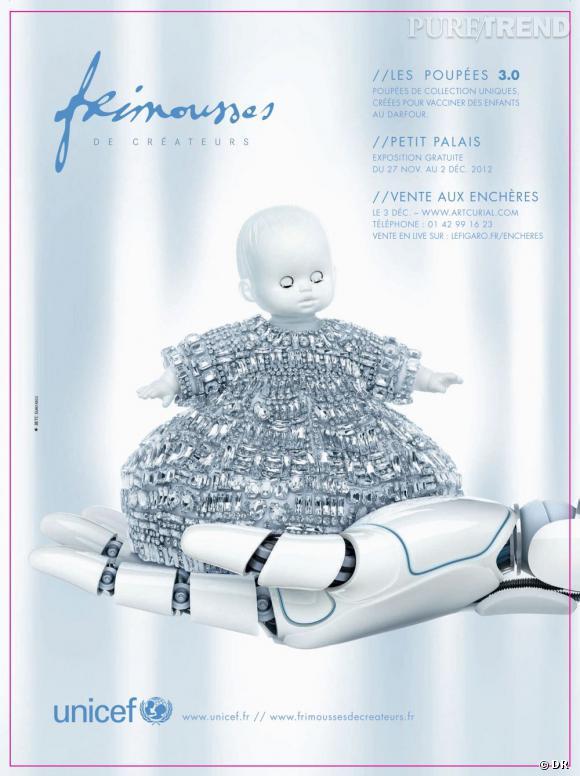 10e édition des Frimousses de créateurs au profit de l'unicef.