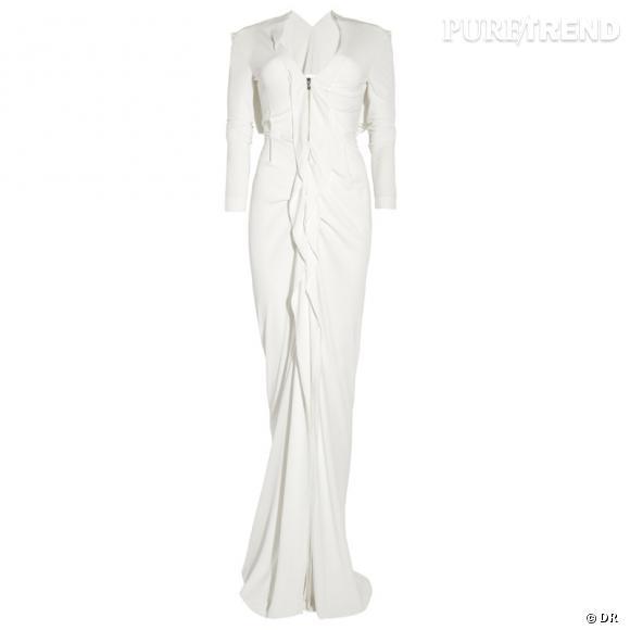 The White Collection : Roland Mouret présente sa première collection de robes de mariée    Robe Compeyson, 1689 € sur  www.net-a-porter.com
