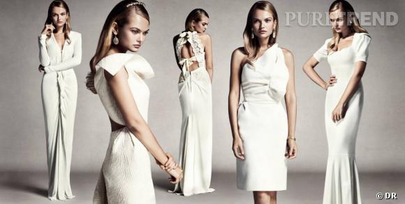 The White Collection : Roland Mouret présente sa première collection de robes de mariée. En exclusivité sur www.net-a-porter.com.
