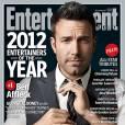"""Ben Affleck, """"entertainer"""" sérieusement sexy pour le magazine Entertainment Weekly."""