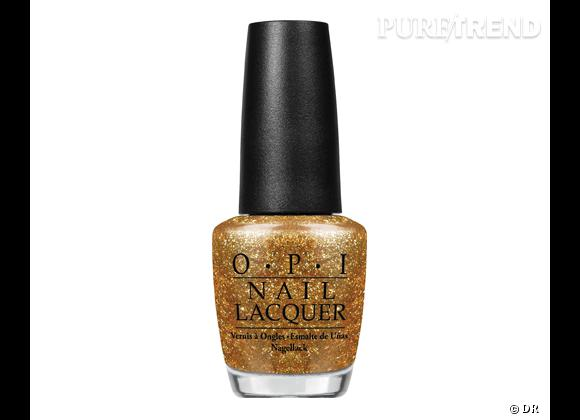 Vernis GoldenEye, Collection Skyfall d'O.P.I., 13,90 €